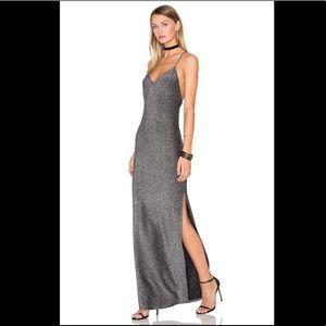 x REVOLVE Rae Cross Back Dress in Silver